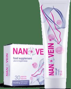 Nanovein en farmacia en España